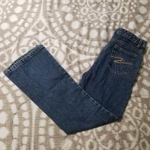 Girls Pk Jeans Size 10 Bootcut Medium Wash